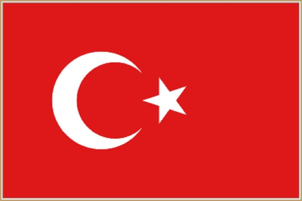 Turkey Flag 1024